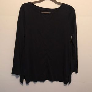 Loft top. Navy Blue. New without tags.